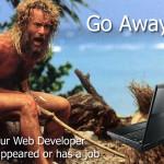 web developer is missing